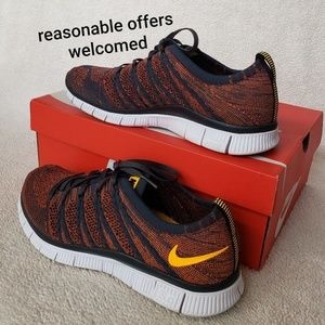 Nike Free Flyknit NSW Mens Shoes Size 9
